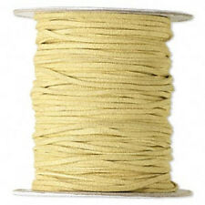 Faux Suede Leather Cord Imitation Necklace Bracelet Lace Thread, 10 to 100 feet