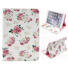 Floral Jacquard Wallet Leather Case Cover For iPad Mini 1 2 3 Retina Stylish