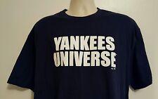 Majestic Adult Blue Yankees Universe Short Sleeve 2XL T-Shirt