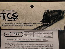 TCS #1335 DP5 Train Control Systems HO Decoder 5 Function  BIGDISCOUNTTRAINS