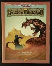 AD&D 2nd 1991 FR13 ANAUROCH Forgotten Realms TSR 9320 Dungeons Dragons No Map EX