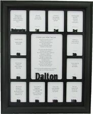 School Years Picture Frame-Personalized Name-kindergarten to graduation, k 12