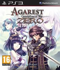 Agarest: Generations of War Zero     PS3   NUOVO !!!