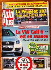 AUTO PLUS du 11/04/2006; VW Golf 6/ Peugeot 207 face aux autres stars/ Audi TT 2