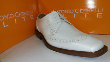 Antonio Cerrelli Elite Men's Faux Aligator Skin Dress Shoes Size 8.5-13 (6260)