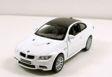 "Kinsmart BMW M3 Coupe 1/36 scale 5"" diecast metal model car White K08"