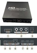HD CVBS / AV NTSC / PAL to HDMI 720P / 1080P HD Video Converter Wii PS3 PSP