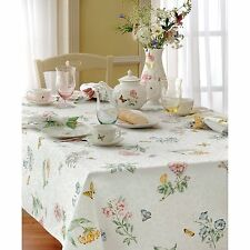 "Easter Spring Tablecloth Butterfly Meadow 60"" x 84"" Rectangle Dinner Table"
