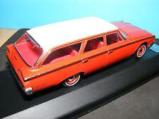 Ford país Squire Estate Coche un americano Ford en rojo 1:43rd. escala Premium X