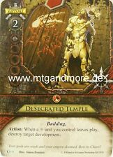 Warhammer Invasion LCG - 1x Desecrated Temple  #033 - The Chaos Moon