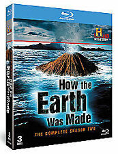 How The Earth Was Made Season 2  Blu-Ray NEW