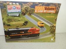 K- LINE TRAINS- 2007 VOLUME 1 CATALOG - GOOD CONDITION- W3