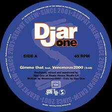 "Djar One - Gimme That Feat. Venomous2000 / Hip (Vinyl 7"" - 2016 - EU - Original)"