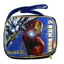 Iron Man 2 Movie War Machine Mark VI  LUNCH BAG For KIDS BRAND NEW