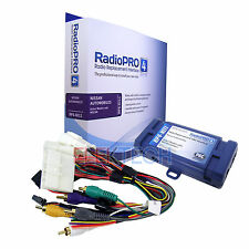 Radio Replacement Interface w/Steering Wheel Control Retention SWC for Nissan