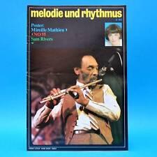 DDR Melodie und Rhythmus 3/1983 Mireille Mathieu Jimi Hendrix Gianna Nannini