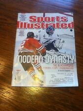Duncan Keith Chicago Blackhawks Stanley Cup Champions Sports Illustrated