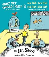 What Pet Should I Get? and One Fish Two Fish Red Fish Blue Fish by Dr. Seuss...