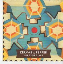 (EB794) Zervas & Pepper, Sure Fire Bet - 2013 DJ CD