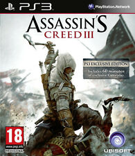 Assassins Creed 3 Ps3 * En Excelente Estado *