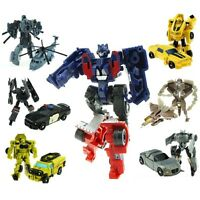 Transformers 1 set of 7 Bumblebee Optimus Prime Vehicles Autobots Boys Toy Gift