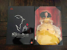 NEW Disney Mattel BEAUTY and the BEAST on Broadway BELLE in YELLOW DRESS
