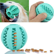 Durable Rubber Pet Dog Puppy Dental Ball Chew Teething Treat Training Play Toy