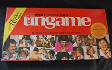 Ungame board game 1984 counseling therapy communication fun