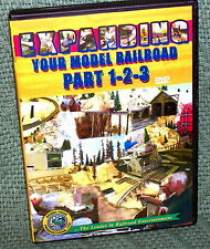 "20086 DVD VIDEO ""EXPANDING YOUR MODEL RAILROAD"" 3-DISC SET (HO SCALE)"