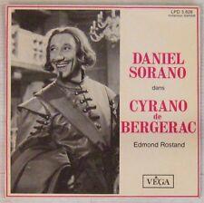 Edmond Rostand 45 tours Cyrano de Bergerac Daniel Sorano