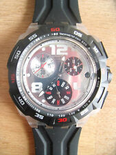 RARE & COLLECTABLE SWISS MADE SWATCH CHRONOGRAPH SUIK400 MENS WRIST WATCH
