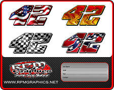 CUSTOM RACE CAR NUMBERS,imca,streetstock,latemodel,4cyl,sprint,ect