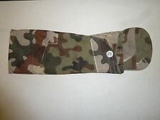 German Swiss Military Tent Pole Set Cover Sweden Free Shipping woodland camo