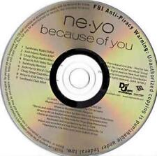 Ne-Yo: Because Of You PROMO MUSIC AUDIO CD Sunfreakz Josh Harris Chop Shop Kriya