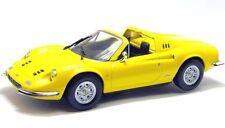 - FERRARI (1970) Dino 246 GTS  giallo yellow  1:43
