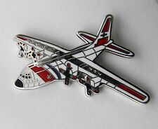 LOCKHEED HERCULES C-130 COAST GUARD USCG AIRCRAFT LAPEL PIN BADGE 1 INCH