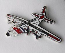 LOCKHEED HERCULES C-130 COAST GUARD USCG AIRCRAFT LAPEL PIN BADGE 1 INCH