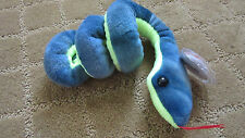 ERRORS RARE HISSY SNAKE TY BEANIE BABY GREAT CONDITION W/ SWING AND TUSH TAGS