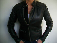 WOMENS G STAR 'AVIATOR LEATHER JACKET' WMN - BNWT - SIZE S