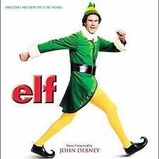 Elf - John Debney soundtrack score CD, great Christmas music!