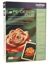 Brother PE Design Plus - Embroidery Digitizing Software + Card & Writer Box