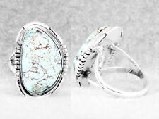 Navajo Ring Size 7 Turquoise Dry Creek Sterling Silver Native American Indian