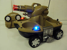Remote Control RC Amphibious Super Tank - Boat in Water missiles Shoot - 2 in 1
