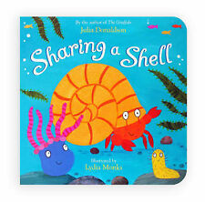 Sharing a Shell, Julia Donaldson, Very Good condition, Book