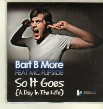 (CW553) Bart B More ft MC Flipside, So It Goes - DJ CD