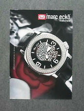 [GCG] K043- Advertising Pubblicità -2008- MARC ECKO WATCHES