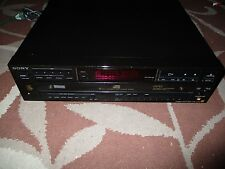 Sony CDP-C67ES 5 disc carousel changer player Excellent Working Condition