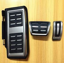 Sport Automatic Foot Pedal Cap Kit For VW Passat B8 Variant Sedan 2016 2017 LHD.