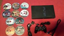 "Sony PlayStation 2 ""FAT"" scph-39001 PS2  console system 10 GAMES FREE SHIPPING"
