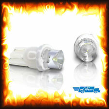 2 x 501 T10 12V W5W 168 194 Xenon White LED Dash Side Car Wedge Light Bulbs Lamp